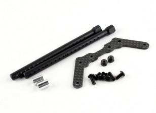 BSR Гонки M.RAGE 4WD M-Шасси - Опция Body Mount Set (Для Tamiya M размер тела)