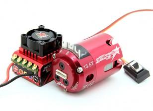 Trackstar ЕДОР утвержден 1/10-ый класс со Brushless ESC и двигателя Combo (13.5T)