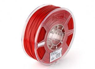 Esun 3D Волокно Принтер Красный 3мм ABS 1KG Ролл
