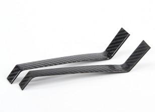 Углеродного волокна шасси для модели профиля - 40 ~ 60 класса
