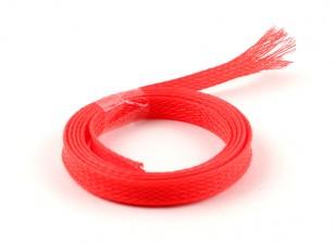 Wire Mesh Guard Неон красный 8мм (1м)