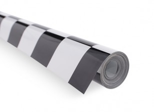Покрывающей пленки Гриль-Work Black / White (5mtr) 402