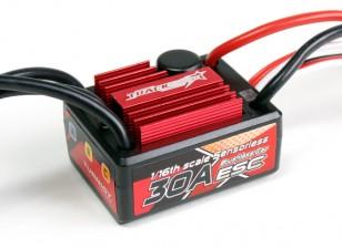 Trackstar 30A 1 / 16th Шкала Sensorless Brushless ESC