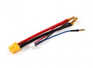 XT60 штекер жгута проводов для 2S Hardcase Lipo с 5мм Пули Connector и JST-XH (1шт)