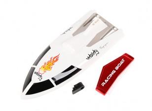 FT007 Vitality V-Hull гонки лодок 360мм Замена верхней крышки и Спойлер