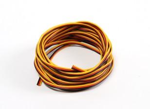 22AWG Servo Провод 5mtr (красный / черный / желтый)