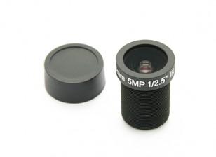 "3.6mm IR / 5mp совета объектива F2.0 1 / 2.5 ""130 °"