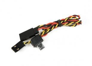 Cam A / V кабель Turnigy Действие и вывод питания для FPV