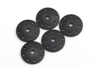 BSR Beserker 1/8 Truggy - Shock Поршень 1.5mm Отверстие (черный) (5шт) 814151