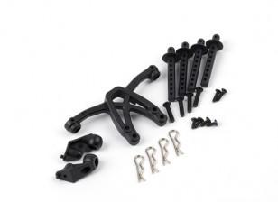 BSR Beserker 1/8 Truggy - Body Shell Mount Kit 816303