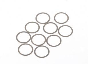 BSR Beserker 1/8 Truggy - Shim 13.2x15.9x0.2mm (10шт) 941312