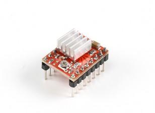 Модуль Драйвер A4988 шагового двигателя для 3D принтера с радиатором