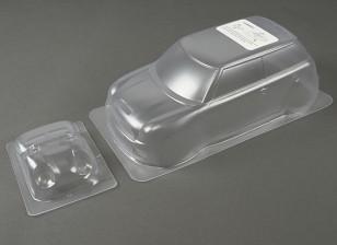 1:10 Mini Cooper S 2001 Clear Shell кузова (для M шасси)