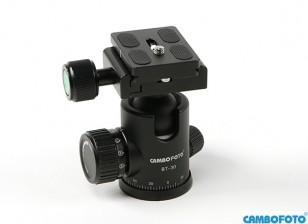 Cambofoto BT30 бальная система Головка для камеры Tri-Стручков