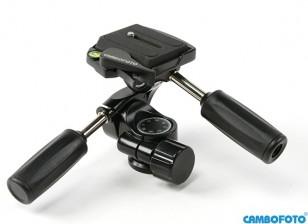 Cambofoto HD36 3Way Система Panhead для камеры Tri-Стручков