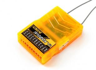OrangeRx R1020X V2 10CH 2,4 DSM2 / DSMX Комп Полный диапазон Rx ж / Сб, Div Ant, F / Safe & CPPM