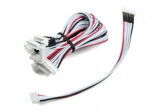JST-XH 6S провода выдвижения 20cm (10pcs / мешок)