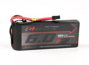 Turnigy 6000mAh 3S Графен 65C Lipo Аккумулятор ж / XT90