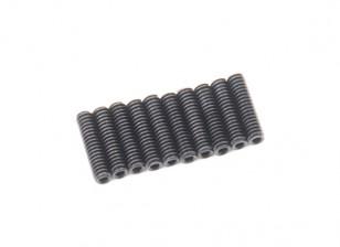 Металлический потайной винт M2x8-10pcs / комплект