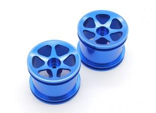Поверхностные диски GPM Гонки Associated RC18T сплав Стандартный (6 или затопления поляки) (синий) (1pr)