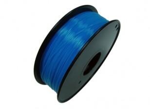 HobbyKing 3D Волокно Принтер 1.75mm PLA 1KG золотника (флуоресцентная синий)
