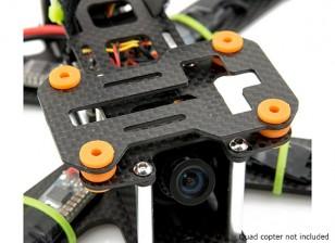 Lumenier QAV180 / 210 Carbon Fiber демпфированием вибрации камеры Тарелка (GoPro и Mobius)