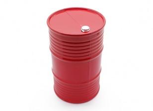 Масштаб 1/10 45 Галлон Нефть барабан - Оранжевый