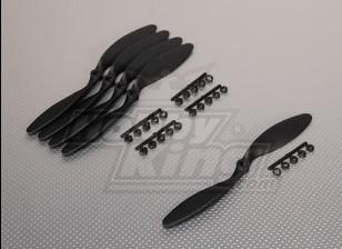 GWS Стиль Slowfly Пропеллер 8х6 Black (КОО) (5шт)