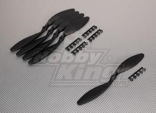 GWS Стиль Slowfly Пропеллер 9x6 черный (КОО) (5шт)