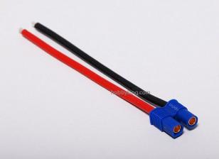 EC3 штепсельной вилки Женщина 14AWG 10cm