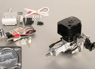 Turnigy 30cc Газовый двигатель ж / CDI электронное зажигание и Подлинная Walbro карбюратор