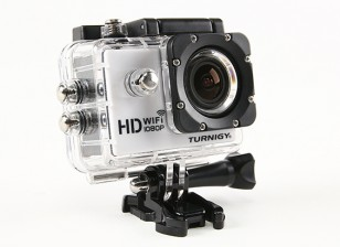 Turnigy HD WiFi ActionCam 1080P Full HD видеокамера ж / водонепроницаемый футляр
