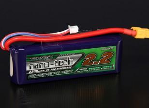 Turnigy нано-технологий 2200mah 3S 35 ~ 70C Lipo обновления