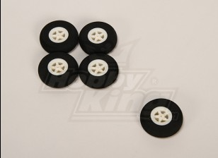 Свет пены колеса (диам: 40, ширина: 11мм) (5 шт / мешок)