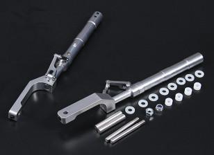 Сплав Oleo Ноги Смещение P-51 Стиль 161mm 2pc