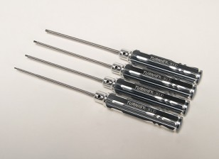 Turnigy Длинный вал 4pc Hex Driver Set