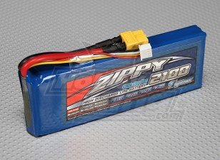 ZIPPY Flightmax 2100mAh 3S1P 30C LiFePo4 пакет