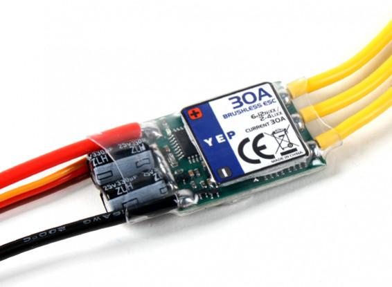 YEP 30A (2~4S) SBEC Brushless Speed Controller