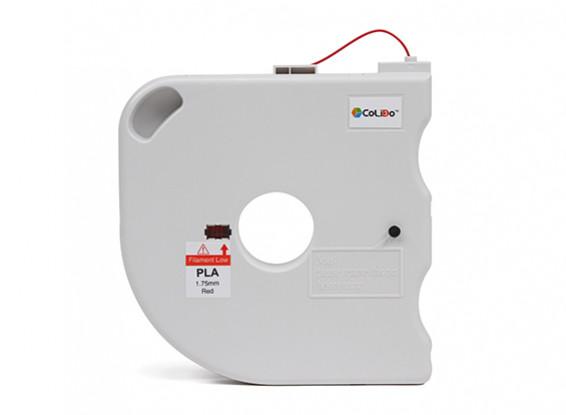 CoLiDo 3D Printer Filament 1.75mm PLA 500g Spool w/Cartridge (Red)