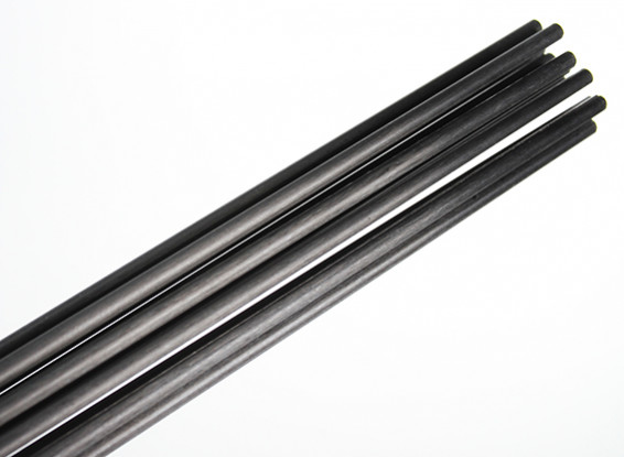 Carbon Fiber Rod (solid) 1.8x750mm