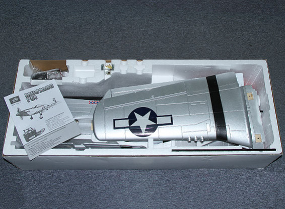 SCRATCH/DENT P-51D Mustang 1.4m EPO (PNF)