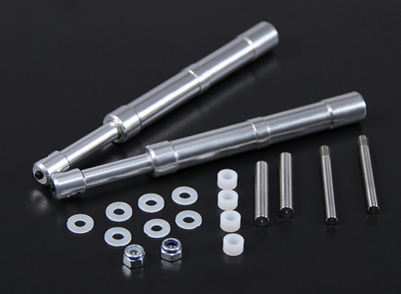 Alloy Oleo Strut 140mm Straight Mains for 60~90 Class 2pc