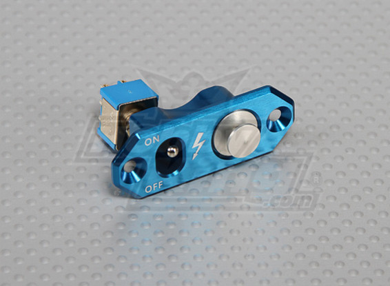 CNC Fuel Dot with Single Toggle Switch (Blue)
