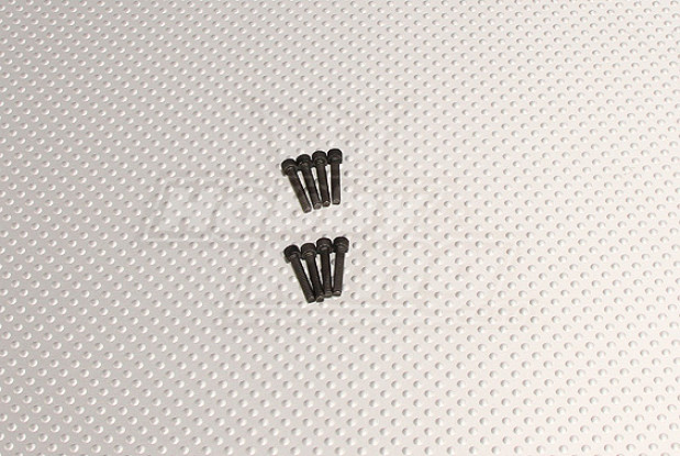 CNC Inch Bolt #4 40x5/8 Black
