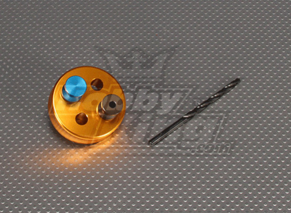 CNC Drilling Jig Set 4SS (Drill 4.3mm) Gold