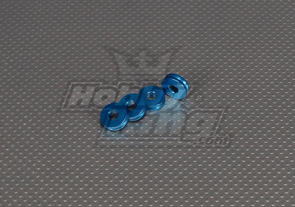 CNC Inch Standoff 5mm (M6,1/4 20) Blue
