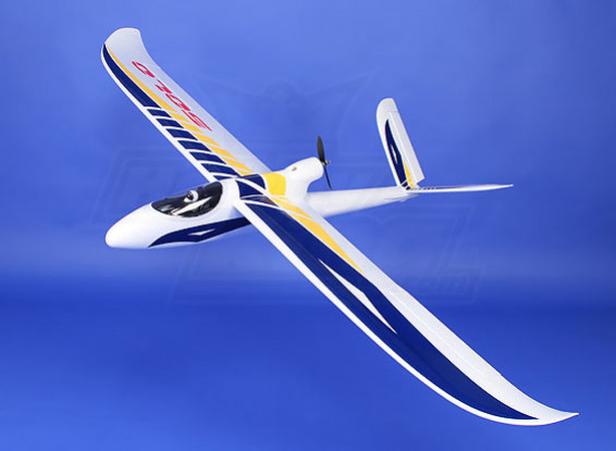 Solo 1500 V-Tail/Conventional Tail Glider EPO (PNF)