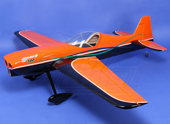 Hobbyking Sbach 340 Orange-Black Gas 30cc 1850mm (ARF)