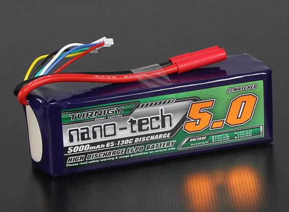 Turnigy nano-tech 5000mah 5S 65~130C Lipo Pack
