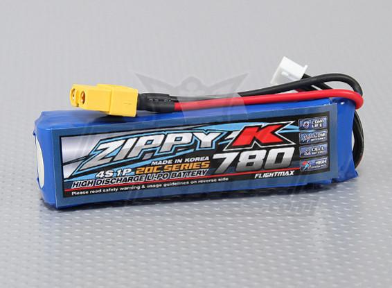 Zippy-K Flightmax 780mah 4S1P 20C Lipoly Battery